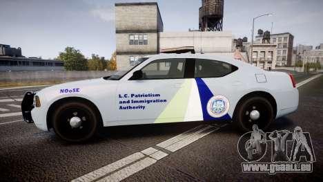 Dodge Charger NOOSE [ELS] für GTA 4 linke Ansicht