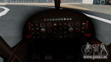Swift Deluxe pour GTA San Andreas vue de droite