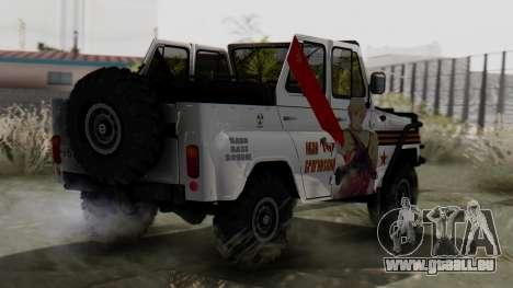 УАЗ 469 Ivan Braginsky pour GTA San Andreas laissé vue