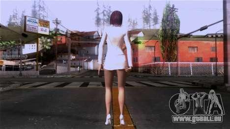 Détaillé de la peau des filles pour GTA San Andreas troisième écran