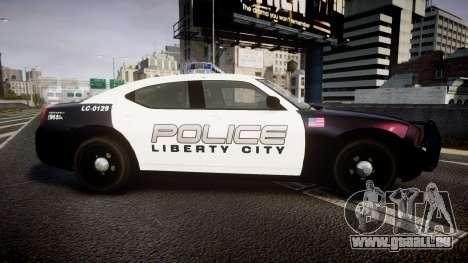 Dodge Charger Police Liberty City [ELS] pour GTA 4 est une gauche