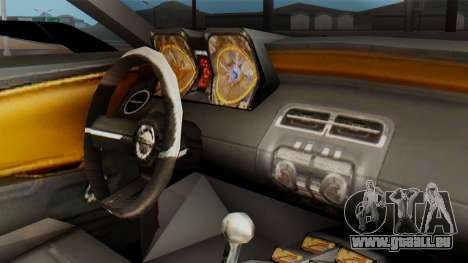 NFS Carbon Chevrolet Camaro pour GTA San Andreas vue de droite