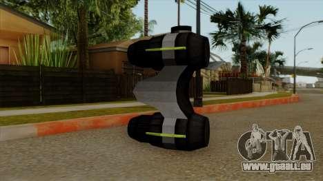 Original HD NV Goggles für GTA San Andreas zweiten Screenshot