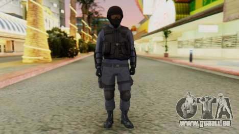 [GTA 5] SWAT pour GTA San Andreas deuxième écran