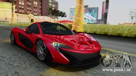 Progen T20 für GTA San Andreas Innenansicht