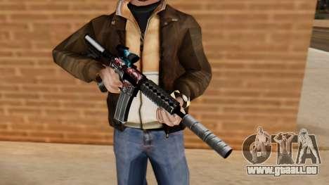 M4A1 UASS pour GTA San Andreas troisième écran
