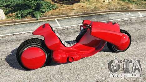 GTA 5 Kenedas bike from Akira vue latérale gauche