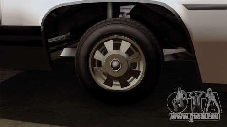 GTA 5 Albany Emperor pour GTA San Andreas sur la vue arrière gauche