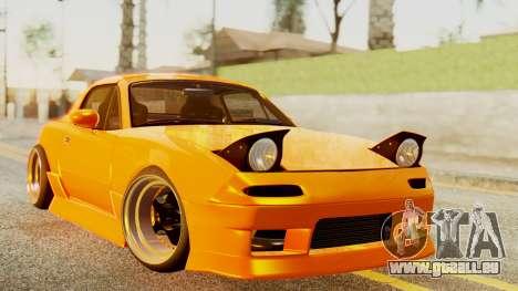 Mazda MX-5 BnSports pour GTA San Andreas laissé vue