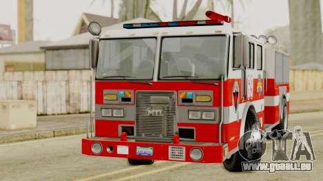 MTL SAFD Firetruck für GTA San Andreas rechten Ansicht