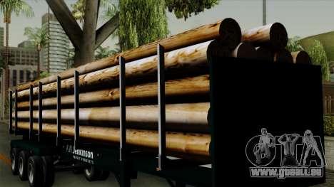 Trailer Log v2 für GTA San Andreas Innenansicht