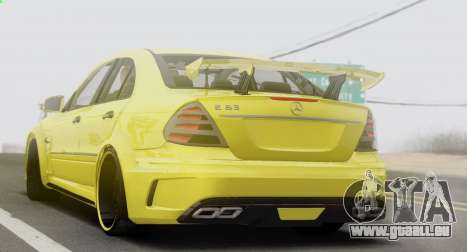 Mercedes-Benz E63 Qart Tuning für GTA San Andreas rechten Ansicht