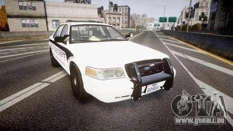 Ford Crown Victoria 2011 New Alderney Sheriff für GTA 4