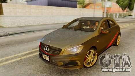 Mercedes-Benz A45 AMG 2012 PJ für GTA San Andreas Motor