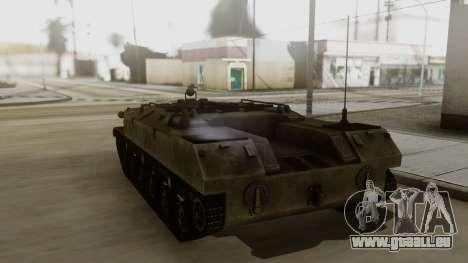 BTR-D pour GTA San Andreas laissé vue