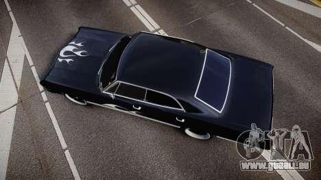 Chevrolet Impala 1967 Custom livery 4 pour GTA 4 est un droit