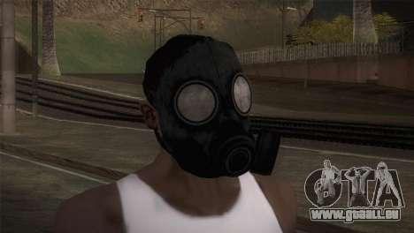Mascara de Gas pour GTA San Andreas