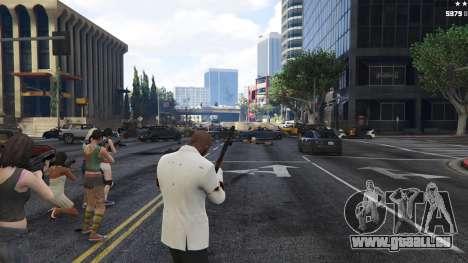 GTA 5 Bodyguard Menu 1.7 sixième capture d'écran