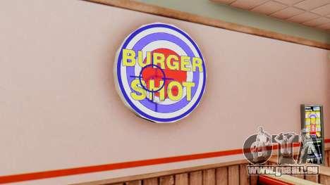 Real fast food pour GTA San Andreas deuxième écran