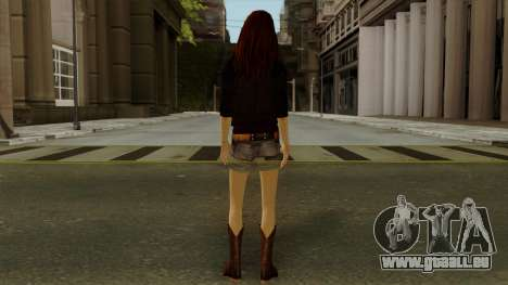 Amy Pond from Doctor Who für GTA San Andreas dritten Screenshot