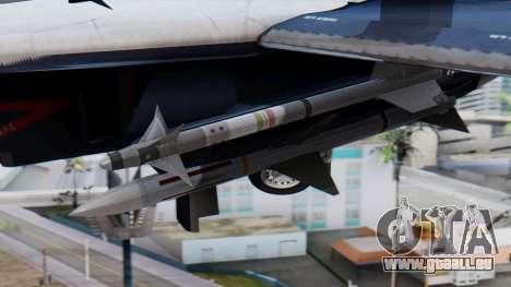 F-14A 213 Koninklijke Marine für GTA San Andreas rechten Ansicht