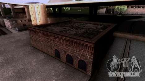 HQ Textures San Fierro Solarin Industries für GTA San Andreas dritten Screenshot