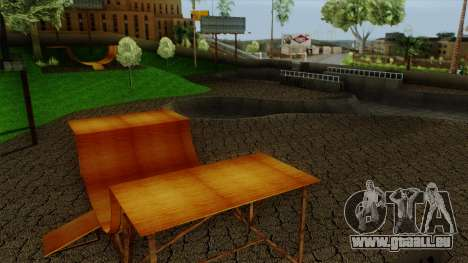 HD Skate Park pour GTA San Andreas