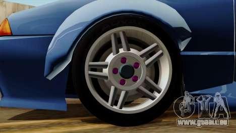 Elegy Rocket Bunny Edition pour GTA San Andreas sur la vue arrière gauche