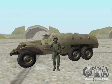 Pak-Kämpfer von speziellen Truppen von GRU für GTA San Andreas achten Screenshot
