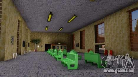 La gare de San Fierro Final pour GTA San Andreas troisième écran