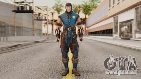 [MKX] Sub-Zero Unmasked pour GTA San Andreas deuxième écran