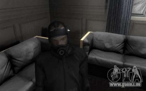 GTA5 Gasmask pour GTA San Andreas