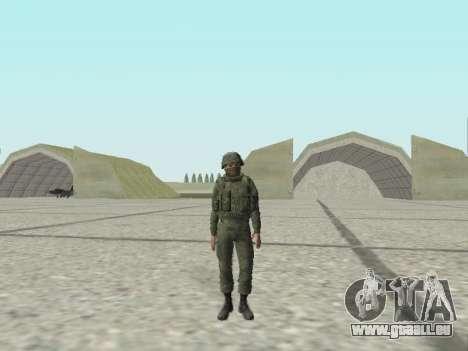 Pak-Kämpfer von speziellen Truppen von GRU für GTA San Andreas neunten Screenshot