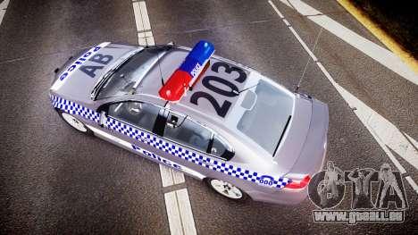 Holden VE Commodore SS Highway Patrol [ELS] für GTA 4 rechte Ansicht