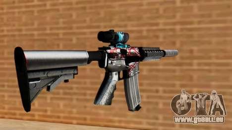 M4A1 UASS pour GTA San Andreas deuxième écran