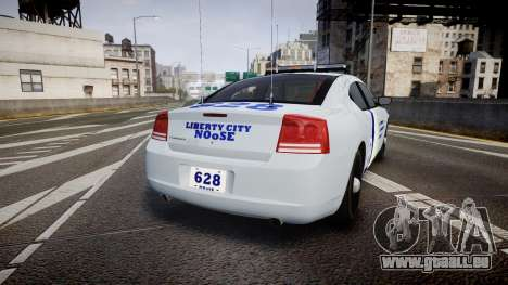 Dodge Charger NOOSE [ELS] für GTA 4 hinten links Ansicht