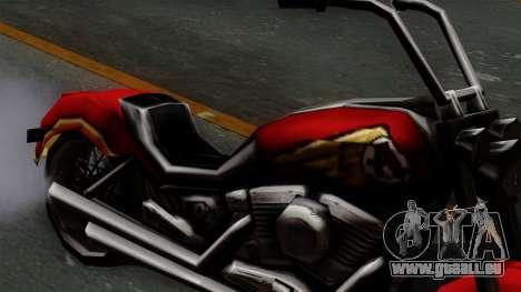 Freeway Avenger für GTA San Andreas rechten Ansicht