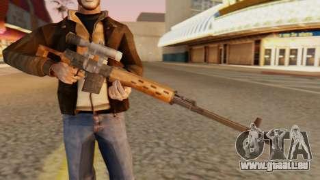 SVD SA Stil für GTA San Andreas dritten Screenshot