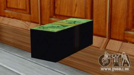 100 Roubles [Olympiques de la série] pour GTA San Andreas deuxième écran