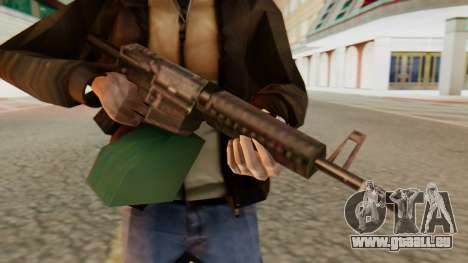 Ares Shrike SA Style pour GTA San Andreas troisième écran