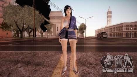 Momiji Kokoro2 DoA pour GTA San Andreas deuxième écran