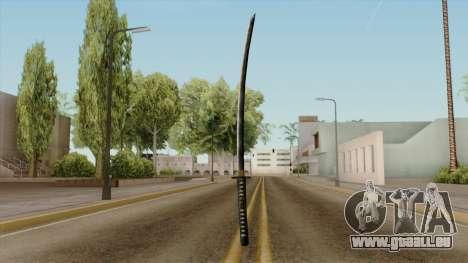 Original HD Katana für GTA San Andreas dritten Screenshot