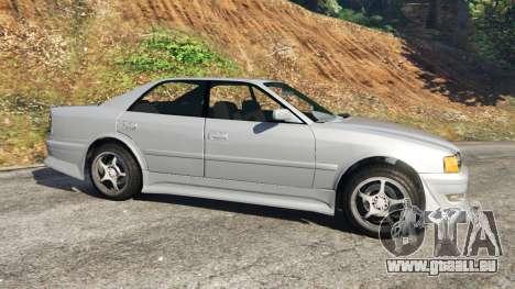 GTA 5 Toyota Chaser 1999 v0.3 linke Seitenansicht