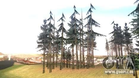 Vegetation Original Quality v3 pour GTA San Andreas quatrième écran