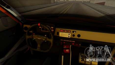 Renault 12 Gordini pour GTA San Andreas vue de droite