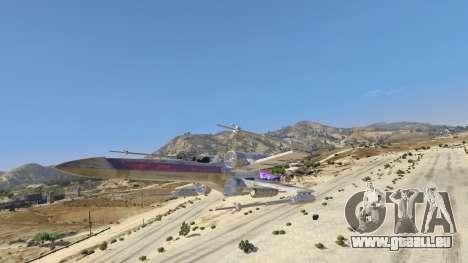 GTA 5 Xwing-Hydra Hybrid zweite Screenshot