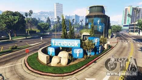 GTA 5 Aufbau des sozialen Netzwerks Facebook
