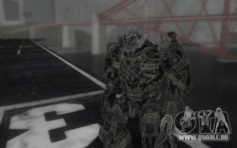 Megatron TF3 pour GTA San Andreas deuxième écran
