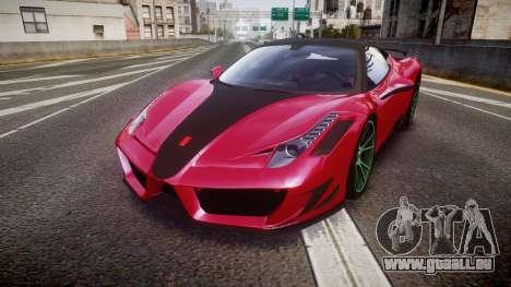 Ferrari 458 Italia Mansory Siracusa 2011 für GTA 4