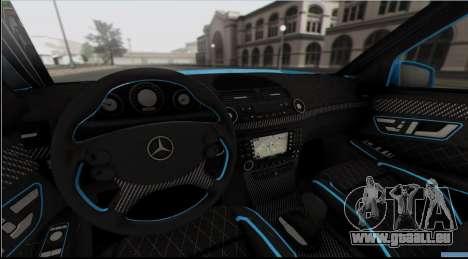 Mercedes-Benz E63 Qart Tuning für GTA San Andreas
